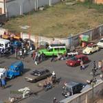 Galerie: Antananarivo Strasse Autos Taxis Madagaskar