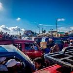 Madagskar Busstation Taxi-Brousse