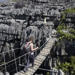 Madagaskar Tsingy Hängebrücke