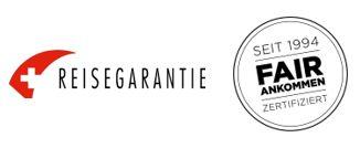 Logo Reisegarnatie und Fair ankommen