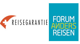 Logo Reisegarantie und Mitglied Forum Anders Reisen