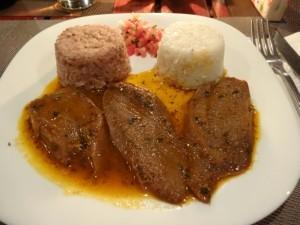 Speisekarte Restaurant Cotsoyannis Madagaskar