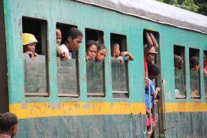 Eisenbahn in Madagaskar FCE Fianarantsoa nach Manakara
