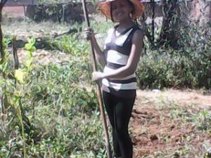 Erdnüsse Madagaskar Ernte