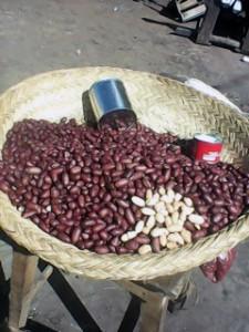 Erdnüsse Snack geröstet Madagaskar