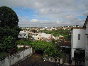 Februar in Madagaskar Fensterblick Antananarivo