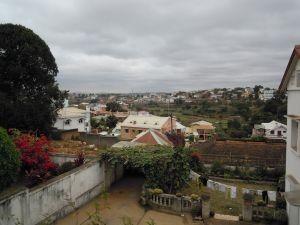 Juni in Madagaskar Blick auf Antananarivo