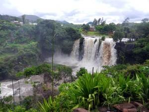 Wasserfall Madagaskar Ampefy Chute Lilly