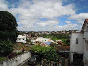 März in Madagaskar Blick in Antananarivo