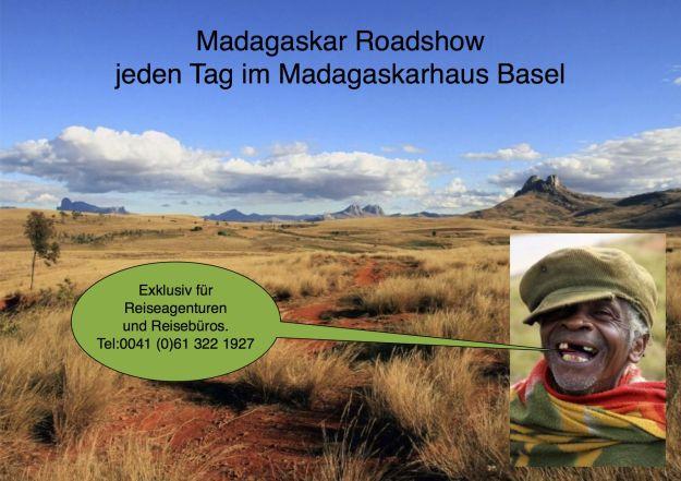 Madagaskar Roadshow im Madagaskarhaus Basel