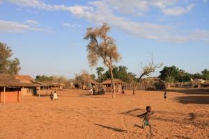 Madagaskar-Dorf-Süden