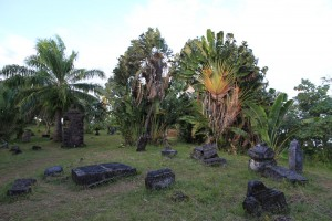 Madagaskar-Piratenfriedhof