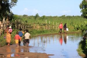 Madagaskar-dorf-ostküste