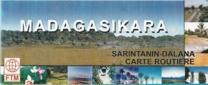 FTM Landkarte und Strassenkarte Madagaskar