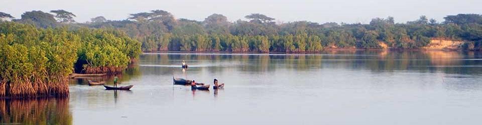 Guinea-Bissau Reisen Wasser Boote PRIORI Afrika