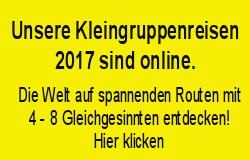 PRIORI Kleingruppenreisen 2017