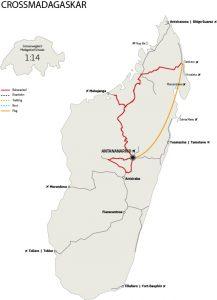Crossmadagaskar Karte