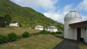 Kreolische Farben: Sternwarte Les Makes La Réunion