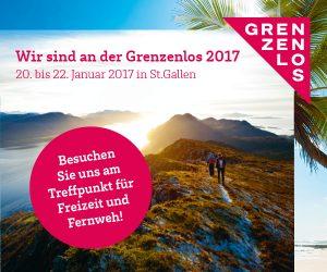 Banner Messe Grenzenlos St. Gallen 2017