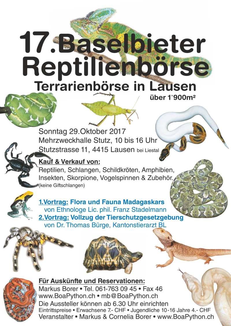 Baselbieter Reptilienboerse 2017