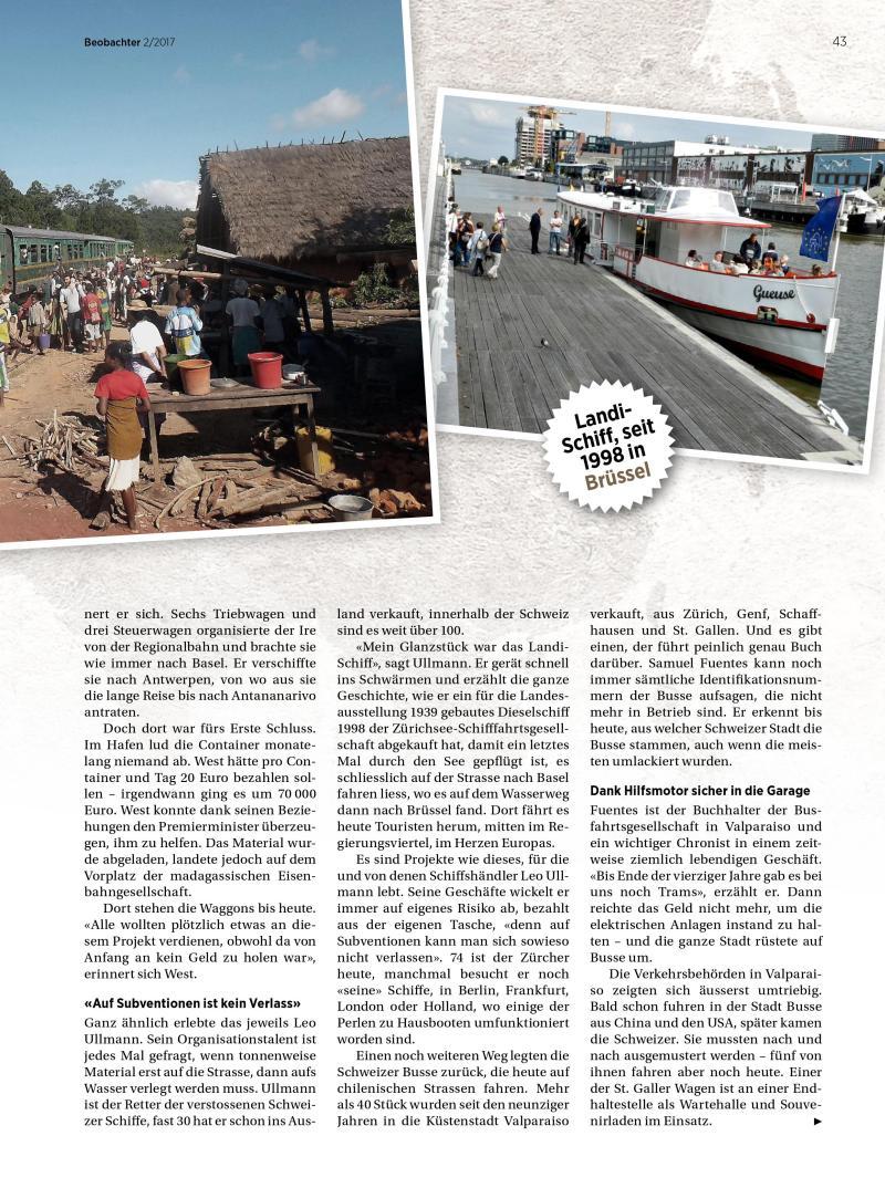 Artikel Züge in Madagaskar
