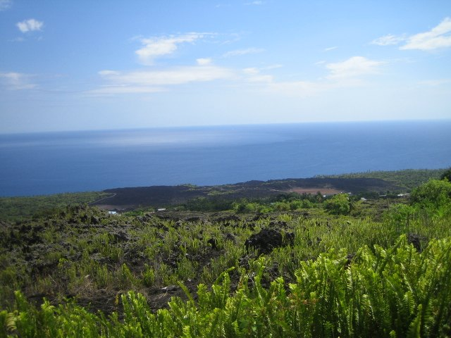 Karthala Trekking - Teil 3: Aufstieg zur Caldera und Aussicht auf den Ozean