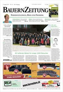 Aktuelle Ausgabe BauernZeitung Nr. 31 2017 mit Beitrag Baumflüsterer Madagaskar