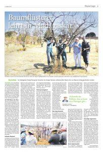 Reportage Baumflüsterer Madagaskar