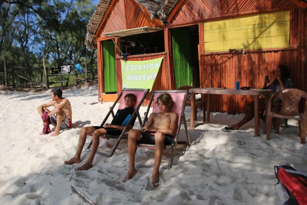 Perfekte Organisation - Beachbungalow & Entspannung © J. Hächler