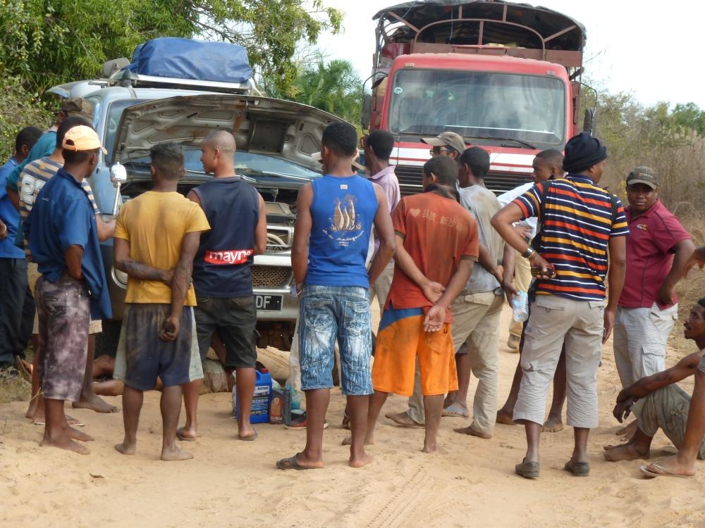 bestens organisierte Reise - Madagaskar - Strassen © Trommer