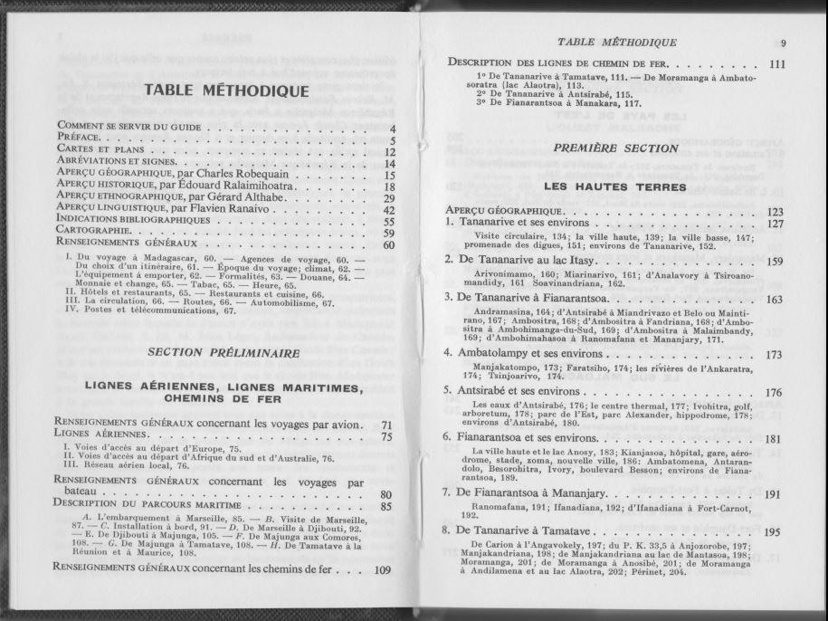Les Guides Bleus Madagascar 1968, 002