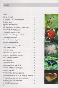 Rano-Verlag Madagaskar - Faszination der roten Insel 2008 Inhaltsverzeichnis Seite 1