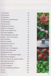 Rano-Verlag Madagaskar - Faszination der roten Insel 2008 Inhaltsverzeichnis Seite 2