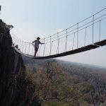 Madagaskarreise war sensationell - Tsingy Hängebrücke