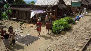 Bahnwanderung entlang der Dschungelbahn - Andrambovato