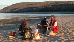Camp 3 am Mangoky-Fluss