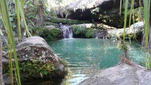 Piscine Naturelle in Madagaskar auf dem Weg zum Mangoky-Fluss