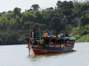 Trekking zum Chute de Sakaleona: Sakaleona-Fluss via Pangalanes-Kanal nach Nosy Varika
