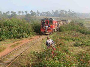 Trekking entlang der Eisenbahnlinie:Dschungelexpress