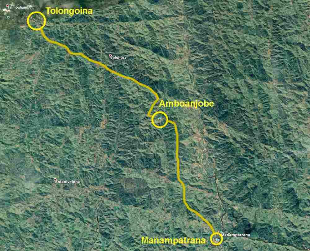 Trekking entlang der Eisenbahnlinie: Tag 3