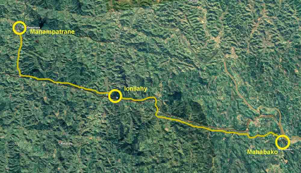 Trekking entlang der Eisenbahnlinie: Tag 4