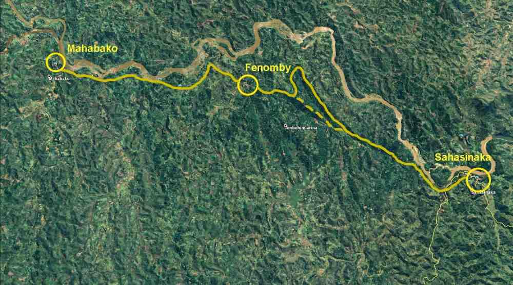 Trekking entlang der Eisenbahnlinie: Tag 5