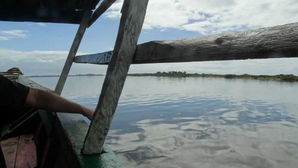 Unser Madagaskar Abenteuer: Dreistündige Bootsfahrt nach Tangainony