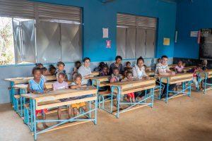 Madagaskar ein Land mit vielen Facetten: Schule