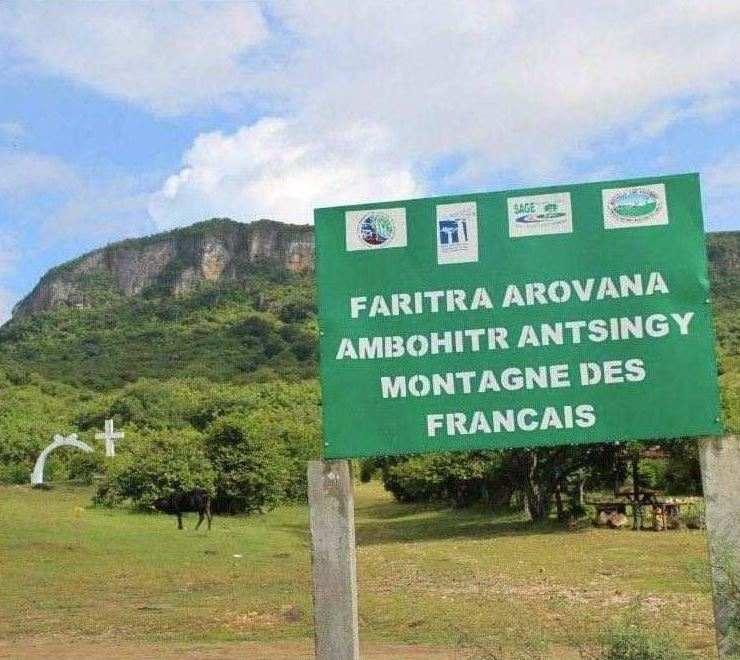 """Das Schutzgebiet """"Harmonische Landschaft"""" von Ambohitr'Antsingy Montagne des Français in Madagaskar"""