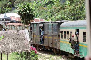 Ein grosses Abenteuer war die Zugfahrt in Madagaskar von Fianarantsoa nach Manakara