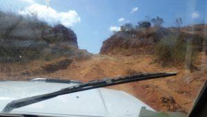 Anfahrt zum Vallee des Perroquets in Madagaskar