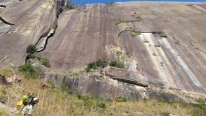 Kletterfelsen im Tsaranoro Massiv