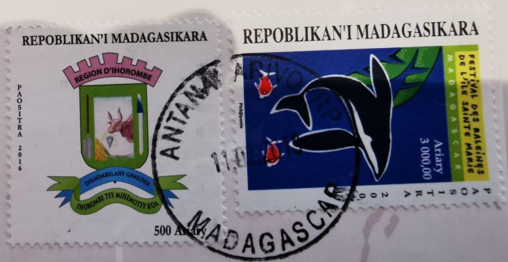 Postleitzahlen in Madagaskar: Post und Briefmarken aus Madagaskar