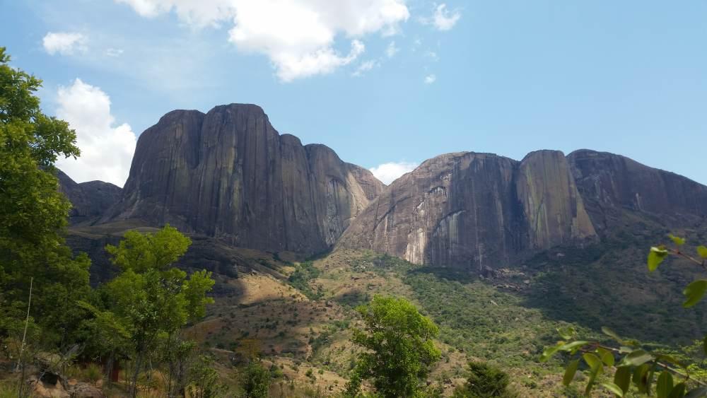 Tsaranoro Massiv Madagaskar